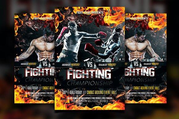 MMA Flyer