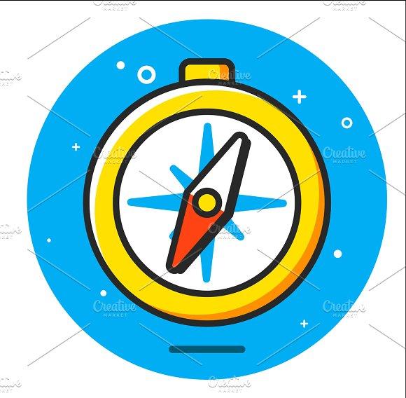 Compass Watermark In Photoshop » Designtube - Creative ...