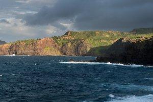 North coast of Maui by Nakalele Blowhole