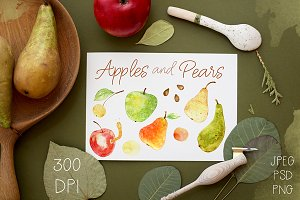 Apple and Pears. Bonus - 2 patterns!