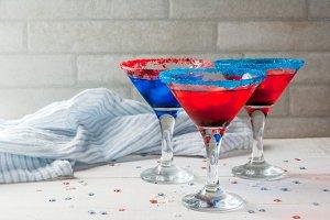 Cocktails for July, 4
