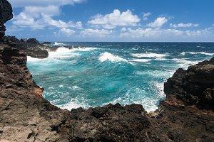 Olivine Pools on north east coastline of Maui