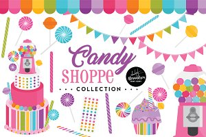 Candy Shoppe Graphics & Patterns