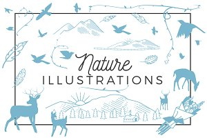 25+ Nature Illustrations