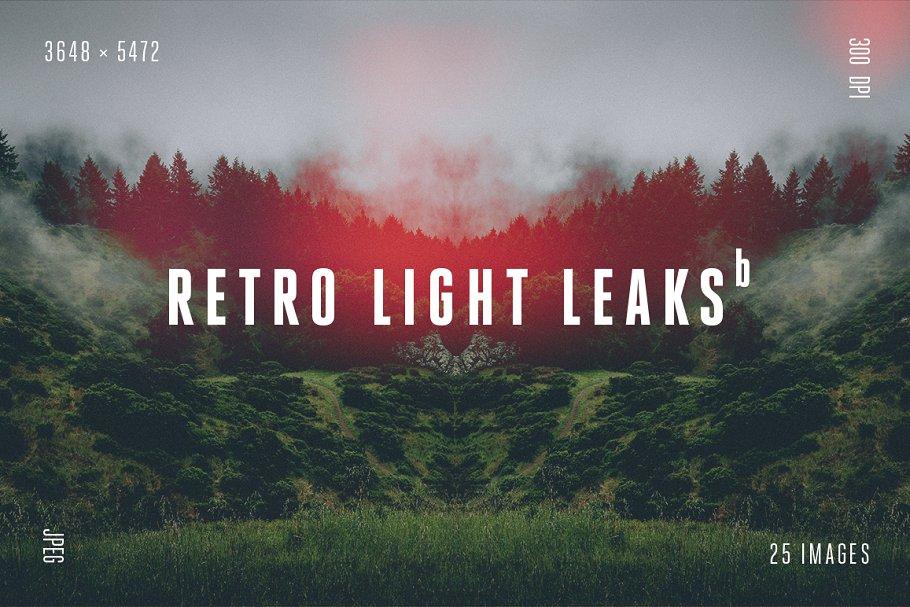 Retro Light Leaks ds in Textures