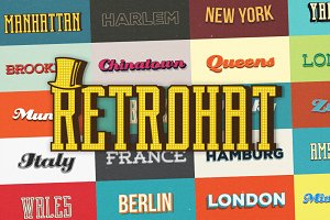 Retrohat™ Graphic Styles