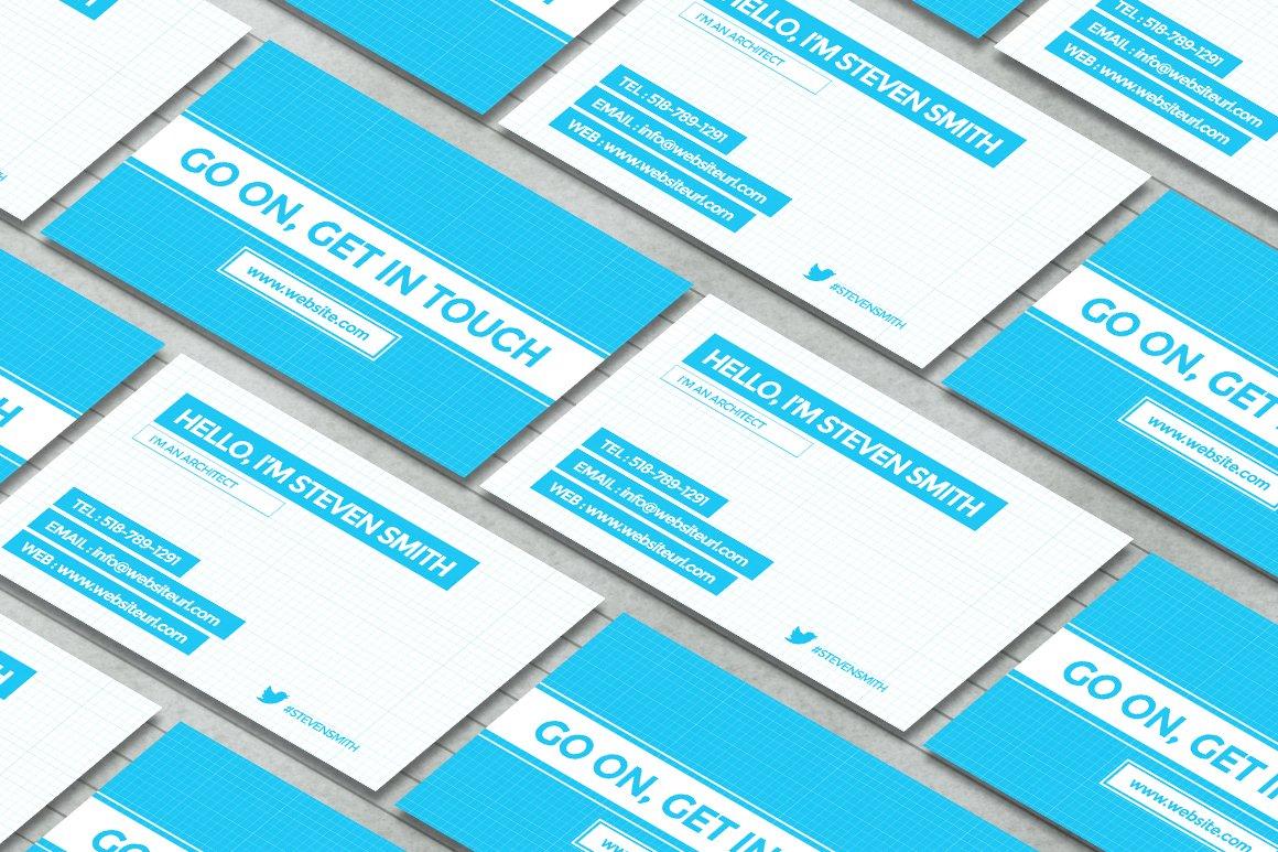 100 architect business card brand identity small architectu
