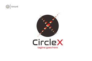 Circle X- Letter X Logo