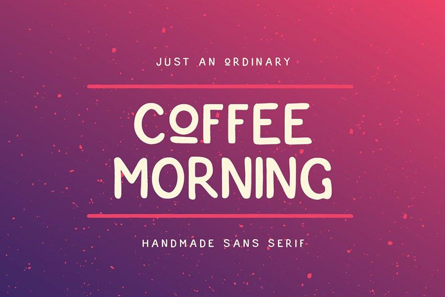 Best Coffee Morning Sans Vector