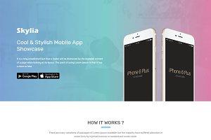 Skylia - Responsive App Landing