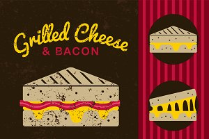 Grilled Cheese graphics