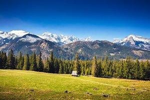 Picteresque Alpine valley