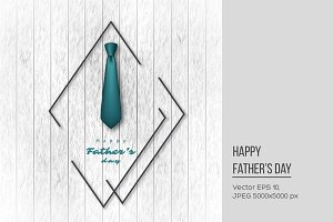 Father's day holiday design.