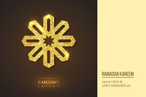 Ramadan Kareem holiday background.