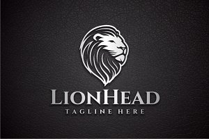 Lion Head Logo