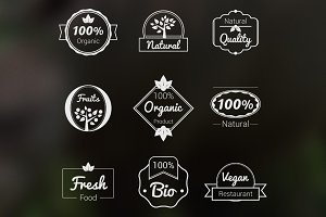 Natural Logos Badges