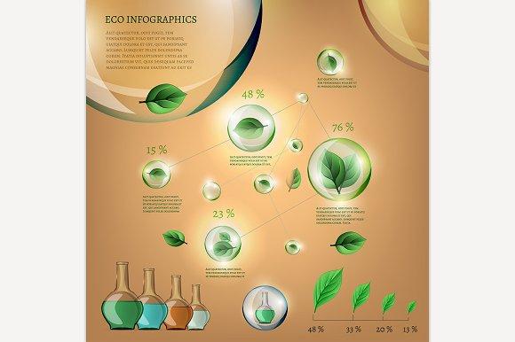 Bio Infographics Set