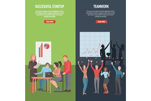 Teamwork and Successful Startup Information Page