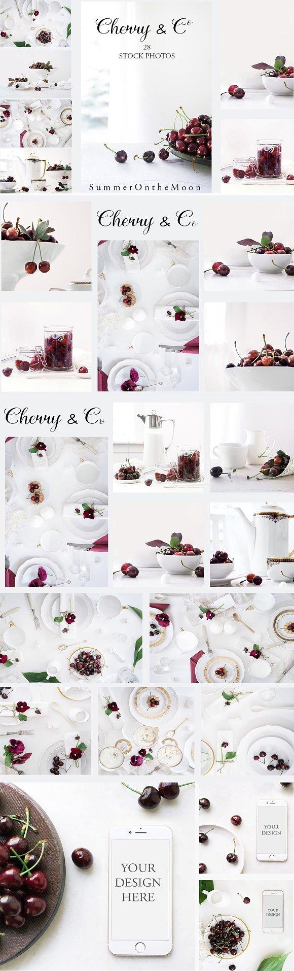 Cherry Co Photos Mockups
