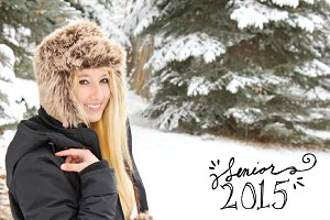 2015 Senior Picture Overlays