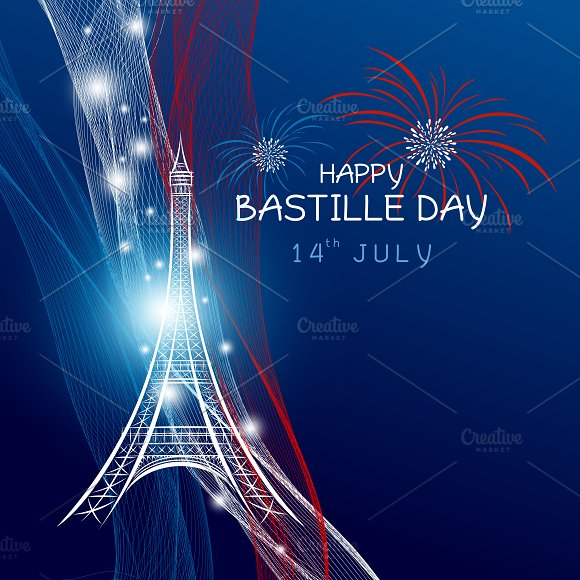 France 14 July Bastille Day
