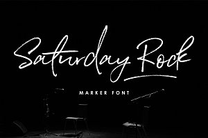 Saturday Rock Font
