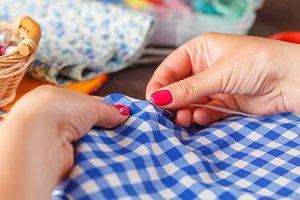 Hand sew