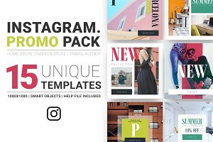 Multipurpose Instagram Promo Pack