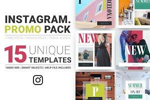 Multipurpose Instagram Promo Pack