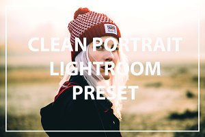 Clean Portrait Lightroom Preset