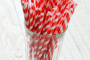 Straws in Glass