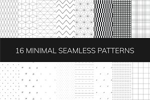 Minimal Seamless Patterns