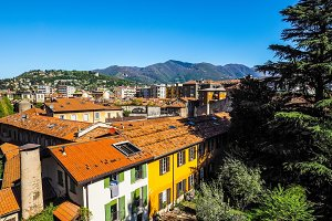 View of the city of Como (HDR)