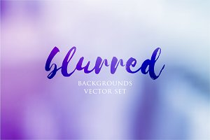 Vector Blurred Backgrounds