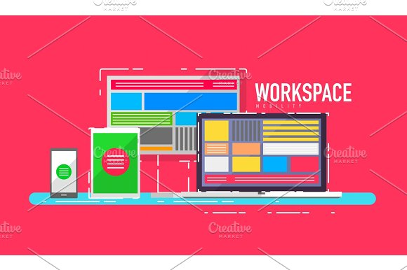 Mobile Workspace Devices Concept
