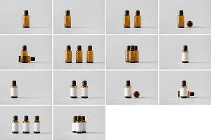 Dropper Bottle Mock-Up Photo Bundle