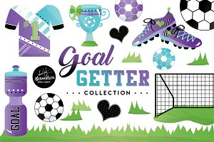 Goal Getter Graphics & Patterns
