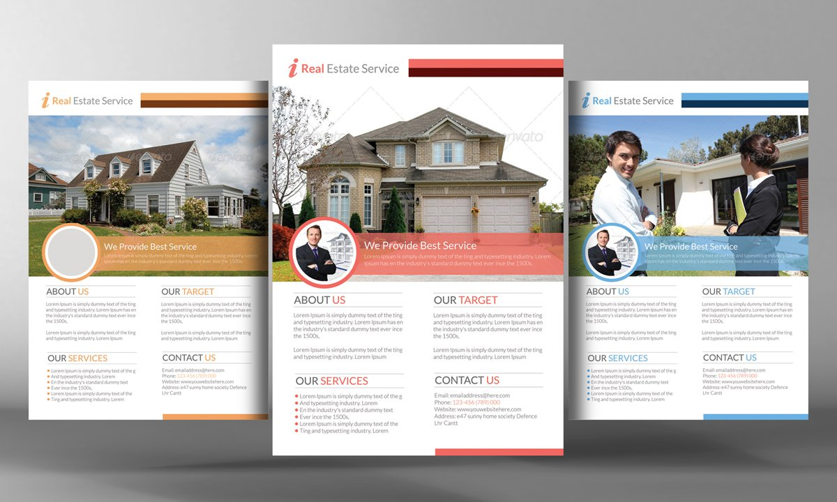 premium real estate flyer template flyer templates on creative premium real estate flyer template flyer templates on creative market