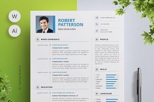 Resume Template & Cover Letter - 1