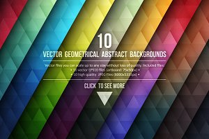 Vector Geometrical Backgrounds