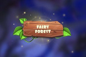 Fantasy Forest Game Assets