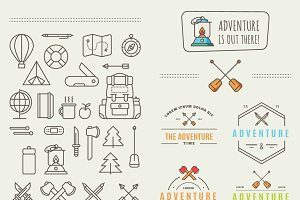 Icons for adventure