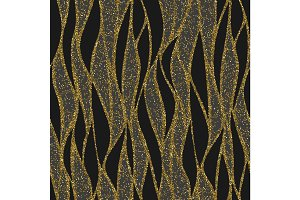 Seamless vector wave pattern for textile and decoration.
