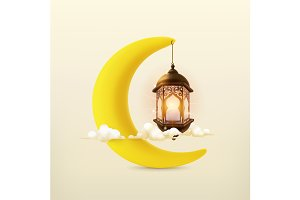 Ramadan kareem, vector icon