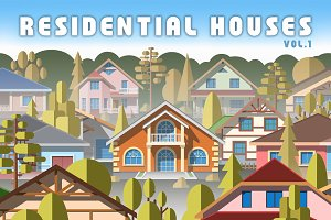Residential houses vol.1