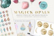 Magick Opals - graphic set