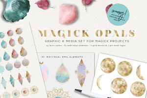 Magick Opals - graphic set