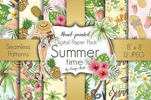 Summer Time Floral Patterns
