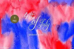 Red and Blue Texture 4th of July
