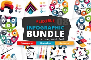 Flexible Infographic Bundle (vol.8)